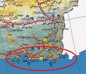 نقشه چابهار