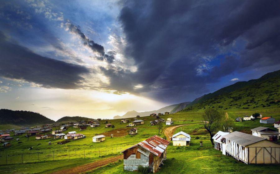 طبیعت دهکده جهان نما