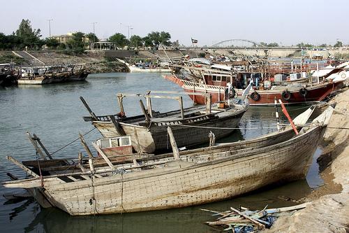 بلم و قایق های ماهی گیری