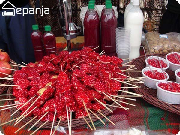 جشن انار در چه شهرهایی از ایران برگزار می شود؟