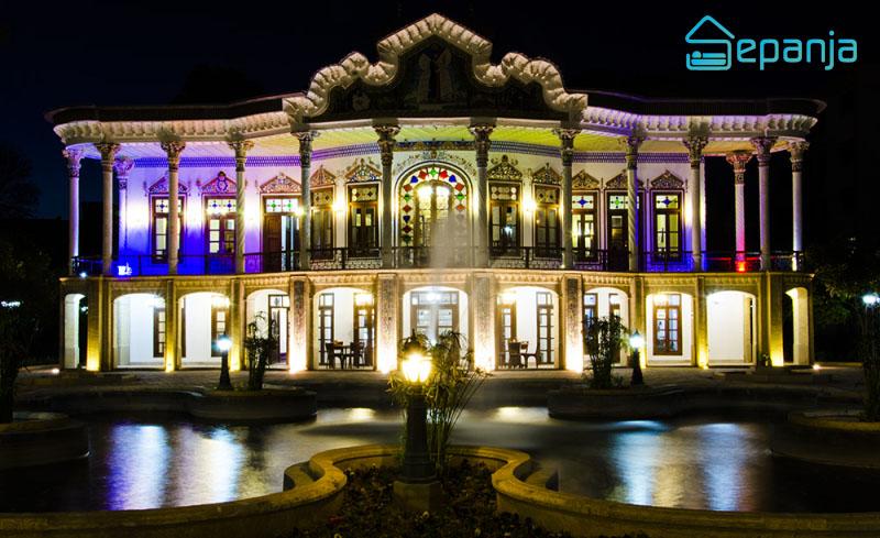 رستوران عمارت شاپوری در شیراز