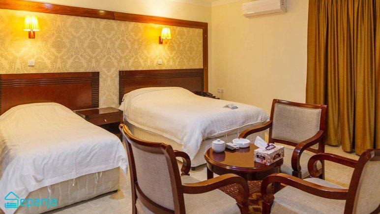 اتاق های هتل فلامینگو در کیش