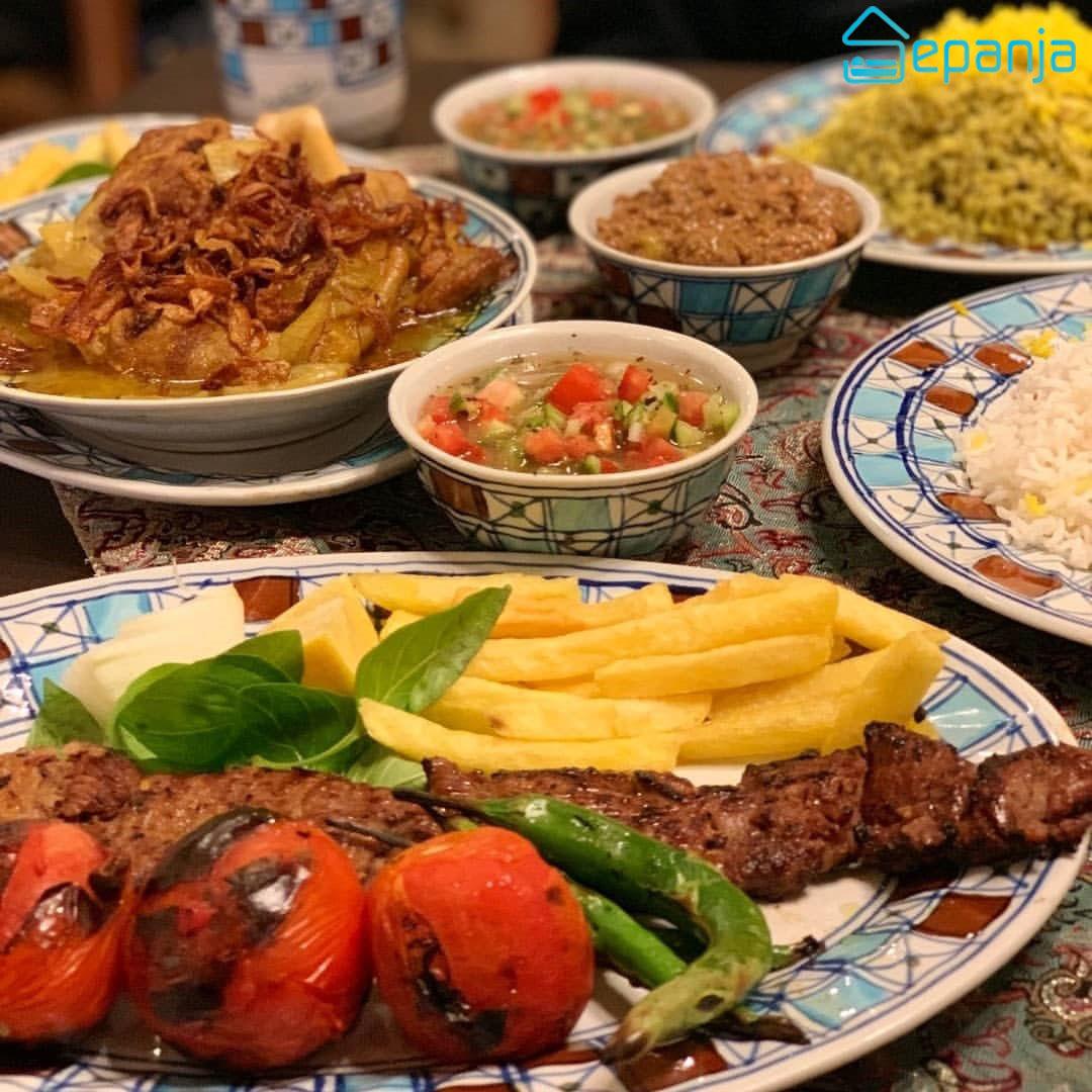 رستوران سنتی شرزه در شیراز