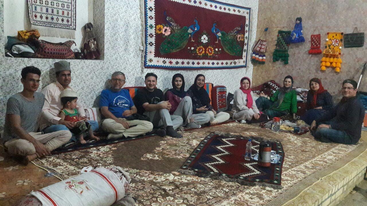 بوم گردی خانه سنتی قشقایی1