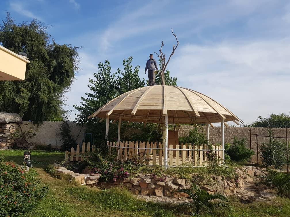 حومه شهر باغ ویلای سوپر لوکس و سنتی - چادر باف در شمس آباد