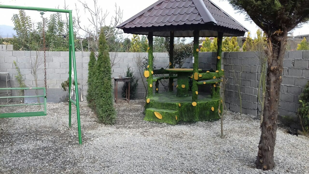 جنگلی باغ و ویلا استخردار در رامسر