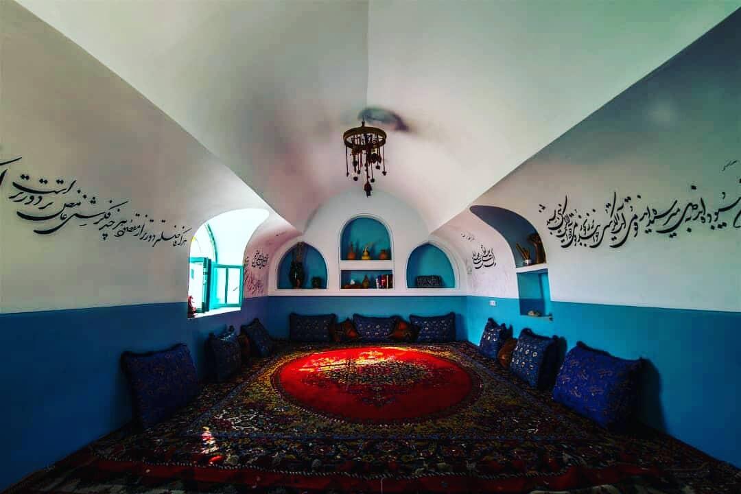 بوم گردی  بوم گردی سنتی در بیشاپور - اتاق شمس