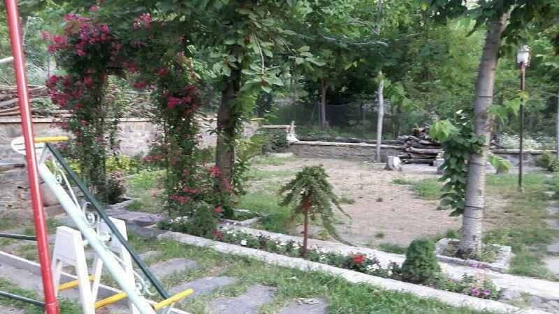 بوم گردی باغ و ویلای گنجنامه